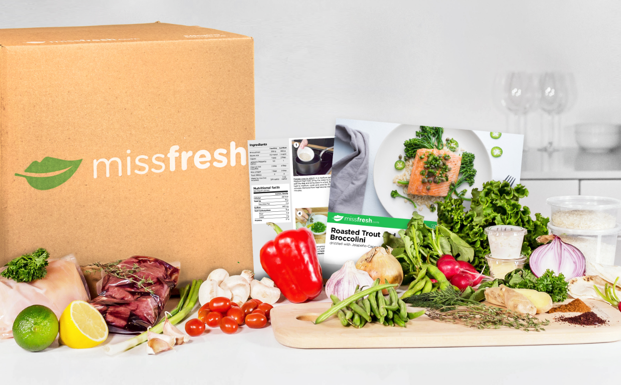 Win Six Months of Free Meals from MissFresh