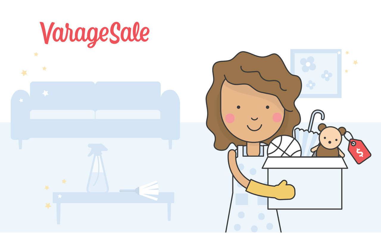 Making Spring Cleaning Easy With VarageSale